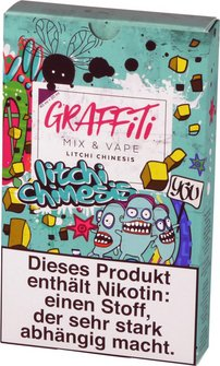 "GRAFFITI Shake & Vape ""Litchi"" 6mg/ml Nikotin 60ml"