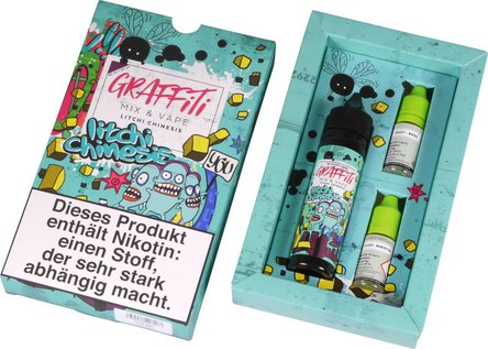 "GRAFFITI Shake & Vape ""Litchi"" 6mg/ml Nikotin 60mg"