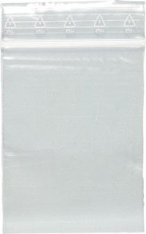 Zip Polybeutel 60 x 80 mm transparent Inhalt: 100 Stück