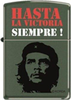"""Org.ZIPPO grün color """"Che - Hasta la Victoria"""" 60001575"""