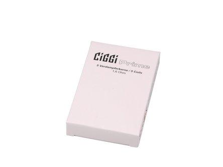 Verdampferkern für CIGGI PRIME NiCr 1.6 Ohm, Inhalt 5 Stück