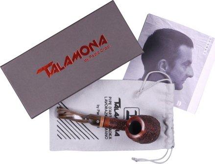 "TALAMONA Freehand Pfeife ""Roccia"" mit Filter Acrylmundstück"