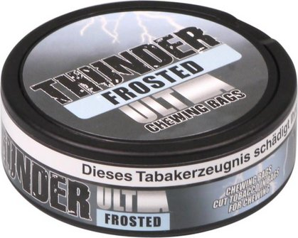 """THUNDER """"Ultra Frosted"""" 24 Beutel in Dose, Nikotin 22mg/g"""