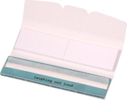 LOL Ultra Thin Kingsize Slim Slim Zigtt-Papier + Tips je 24