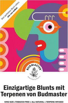 Budmaster Postkarte A5 15 x 21 cm
