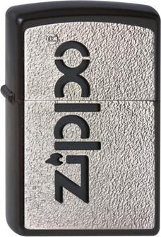 "Org.ZIPPO schwarz Plakette  ""Zippo"" 2002822"