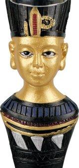 "Modern-Shisha W.P. ""Amun"" blau 2er/50cm"