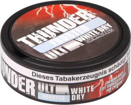 "THUNDER ""Ultra Frosted White Dry"" 24 Beutel in Dose"