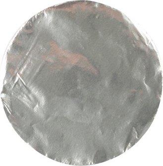Aluminium-Folie rund für Wasserpfeife (Inh. 100 St.)