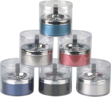 Drehascher Metallic-Farben sortiert 11cm