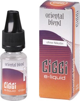 CIGGI Liquid Oriental Blend ohne Nikotin 10 ml