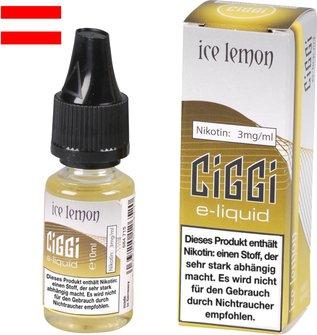 AT CIGGI Liquid Ice Lemon 3mg/ml Nikotin 10 ml
