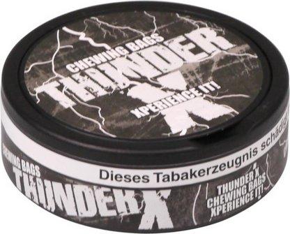 "THUNDER ""X"" 24 Beutel in Dose, Nikotin 45 mg/g"