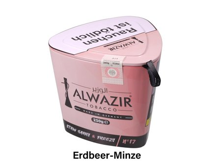 "WP-Tabak Alwazir ""Strw Barry + Freezy No.17"" 250gr-Dose"