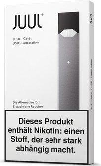 Elektrische Zigarette JUUL Gerät/Device schwarz DE