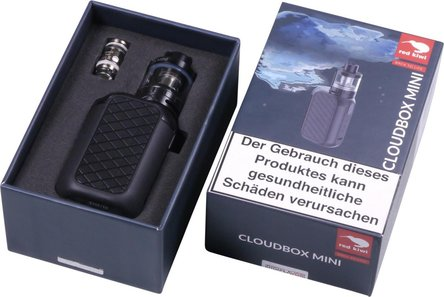 AT Elektrische Zigarette red kiwi Cloudbox Mini Set schwarz