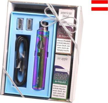 AT Elektrische Zigarette CIGGI Ashe Rainbow im Geschenkset