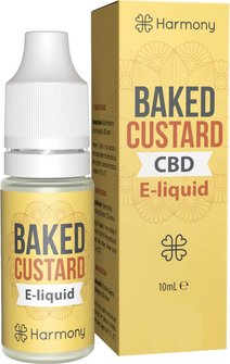 Harmony CBD-Liquid Baked Custard 600mg/10ml