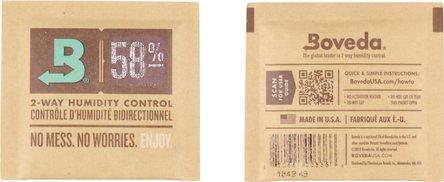 "Boveda Humidipak 2-way humidifier small ""58""  5 x 5 cm"