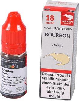 red kiwi FA Liquid Bourbon Vanille High 10ml