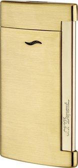 DUPONT SLIM 7 goldfarben gebürstet 027711 Jet