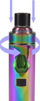 Elektrische Zigarette CIGGI Ashe Top-Filler rainbow