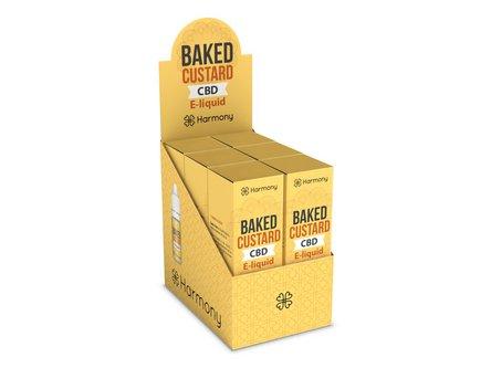 AT Harmony CBD-Liquid Baked Custard 300mg/10ml