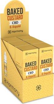 AT Harmony CBD-Liquid Baked Custard 600mg/10ml