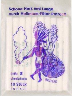 Hellmann Papierfilter Größe 2 Durchm. 4,8mm je 10 Filter