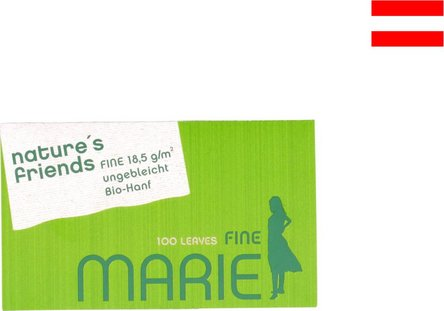 MARIE nature's friends Fine 100 Zigtt.-Papier (je 25 Hf.)