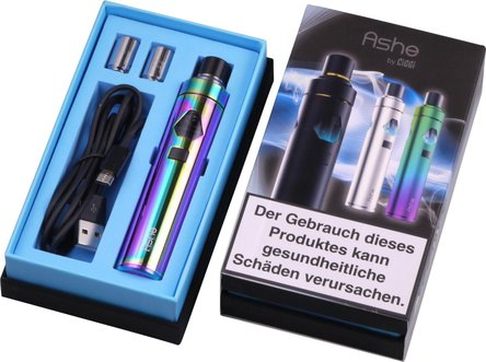 AT Elektrische Zigarette CIGGI Ashe Top-Filler Rainbow