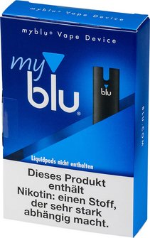 Elektrische Zigarette myblu Dry Kit schwarz DE