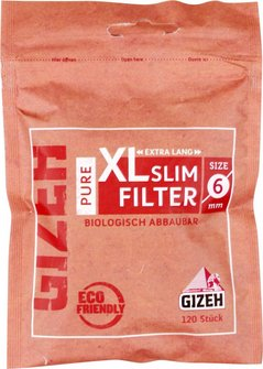 GIZEH PURE Slim Filter XL Inhalt 120 Filter