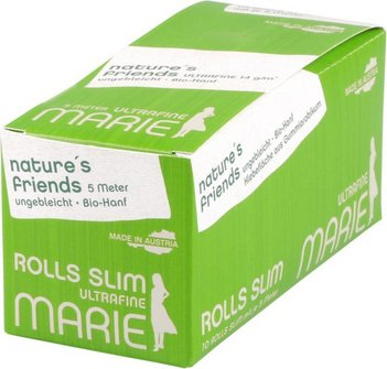 MARIE Rolls nature's friends Slim 5m (je 10 Rollen)