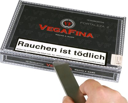 Cigarren-Abschneider Guillotine/-Kistenöffner Edelstahl 17cm