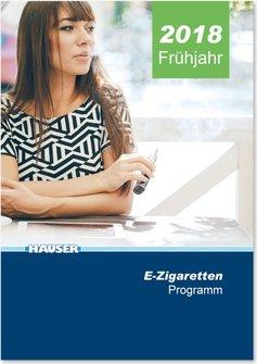 Hauser E-Zigarettenkatalog März 2018 für Deutschland