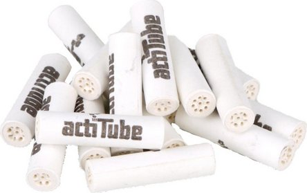 actiTube Slim Aktivkohlefilter 6,9mm Inhalt 50 Filter