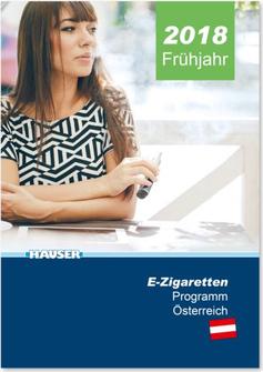 Hauser E-Zigarettenkatalog März 2018 für Österreich