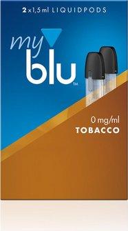 myblu Podpack 1,5ml Tobacco Roasted Blend  0mg/ml Nikotin DE