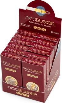 Nicobuster Filterspitzen 6mm Inhalt 30 Filterspitzen