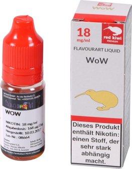 red kiwi FA Liquid WoW (Donut) High 10 ml