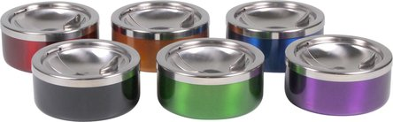 Kippascher Metall chrom/metallfarben sortiert 11cm