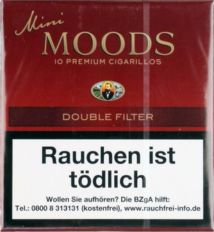 DANNEMANN Mini Moods  Double Filter - 10x0,34