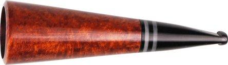 "Cigarrenspitze Bruyère ""Tromba"" braun, Ring. 24mm Bohrung"