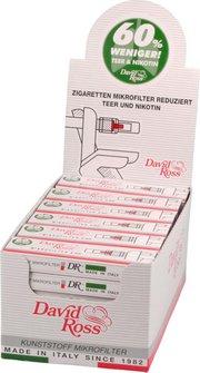 David Ross Minifilter 8mm Inhalt 10 Minifilter