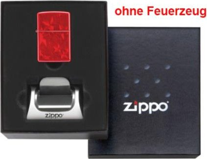 Org.ZIPPO Geschenk-Set mit Einzelsteller 60001250
