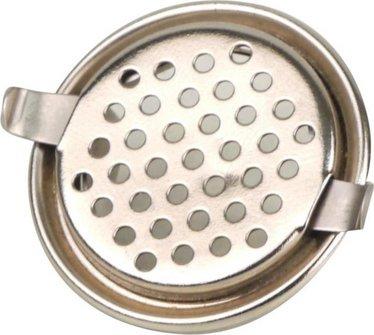 Pfeifendeckel zum Aufklemmen  28mm