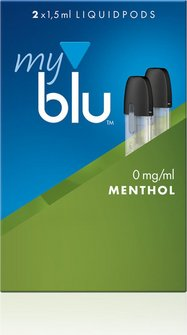 myblu Podpack 1,5ml Menthol 0mg/ml Nikotin DE 2er Pack