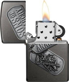 "Org.ZIPPO Grey Dusk color ""SOA Reaper"" 60000098"