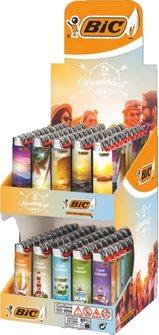 """BIC-Paket """"Wanderlust"""" Inhalt: 50 x Maxi """"Sunset"""","""